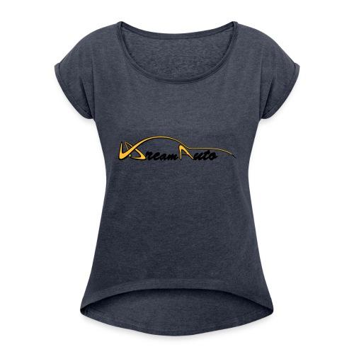 V DreamAuto - T-shirt à manches retroussées Femme