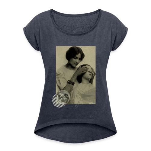 Lune aveugle - T-shirt à manches retroussées Femme