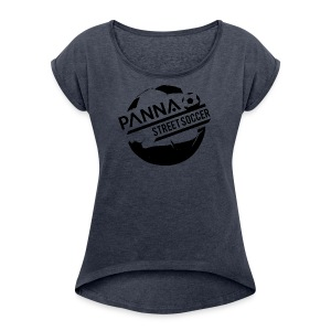 Panna Street Soccer - Women's T-shirt with rolled up sleeves
