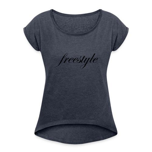 Freestyle - Frauen T-Shirt mit gerollten Ärmeln
