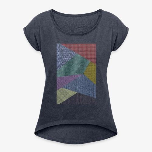 Minimaliste 2 - T-shirt à manches retroussées Femme