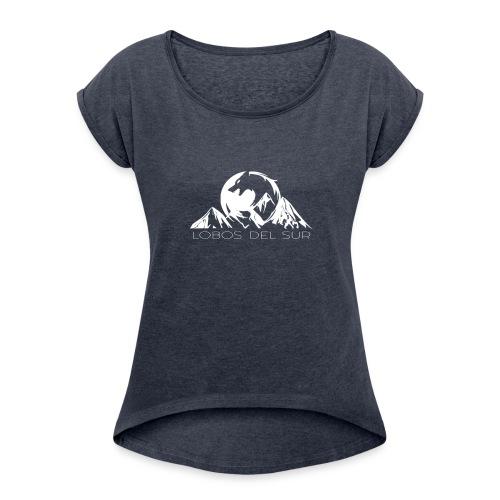 Colección Lobos del Sur - Camiseta con manga enrollada mujer