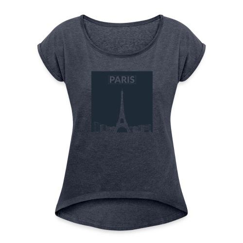 Paris - Collection 2015 - T-shirt à manches retroussées Femme