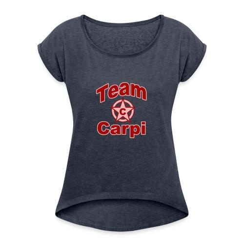 Team carpi - T-shirt à manches retroussées Femme