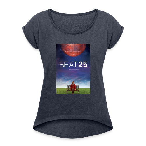 Poster - Women's T-Shirt with rolled up sleeves