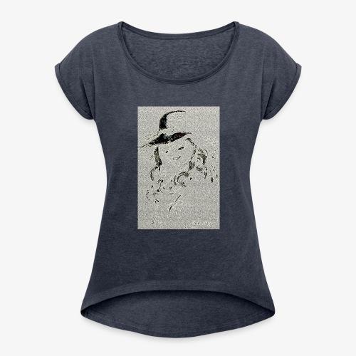 Fillechapeau - T-shirt à manches retroussées Femme