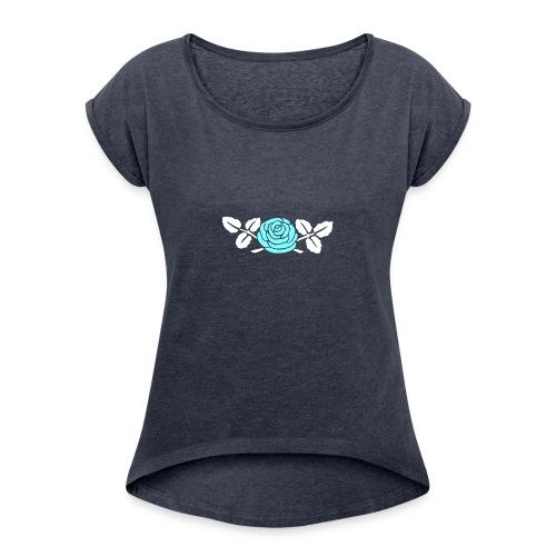 projet Client: R - T-shirt à manches retroussées Femme