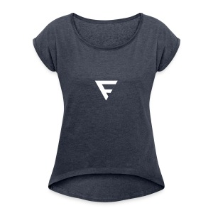 FRUS Merchandise - Women's T-shirt with rolled up sleeves