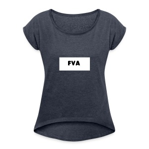 fvamerch - Women's T-shirt with rolled up sleeves