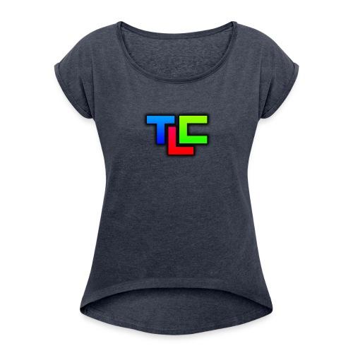 TLC - Frauen T-Shirt mit gerollten Ärmeln