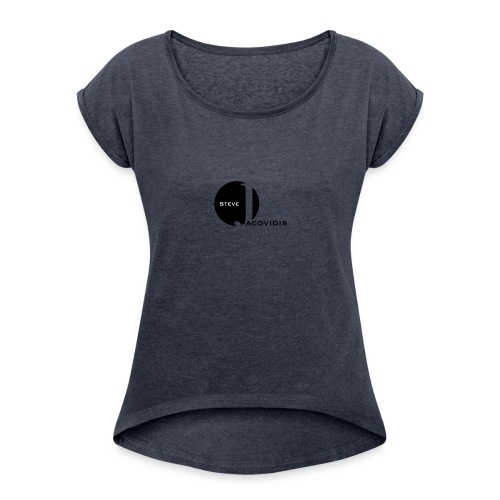 Steve Jacovidis Premium - Women's T-Shirt with rolled up sleeves
