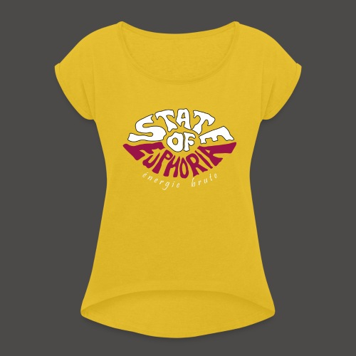 S.O.E. - Women's T-Shirt with rolled up sleeves