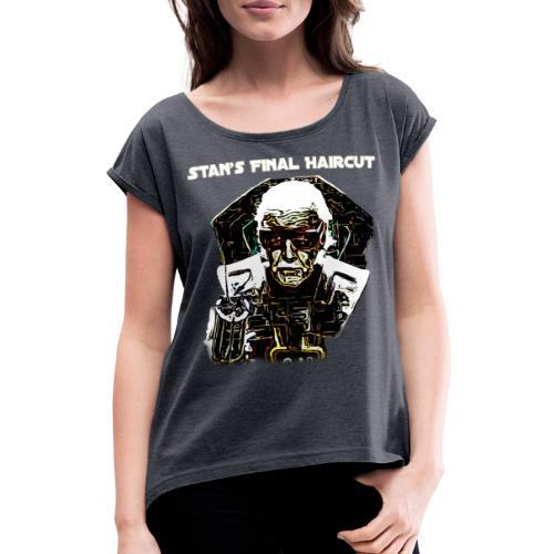 Stan Lee Mar vel Aven gers Thor Comic - Frauen T-Shirt mit gerollten Ärmeln