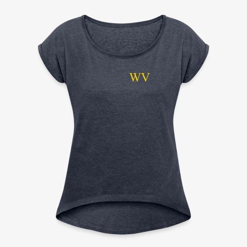 WV - Frauen T-Shirt mit gerollten Ärmeln