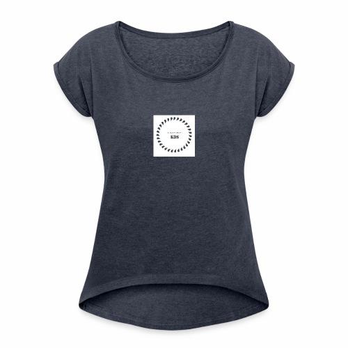 Luxury SHOP 2 - T-shirt à manches retroussées Femme
