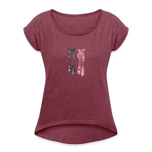 All That Dance - T-shirt à manches retroussées Femme