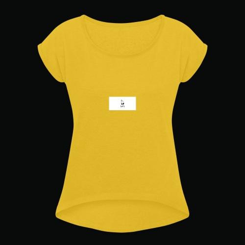 bafti long sleeve tee - Dame T-shirt med rulleærmer