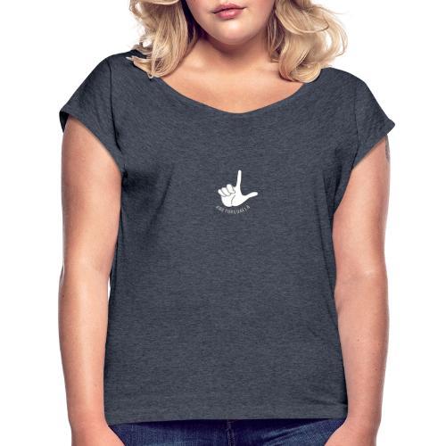 Dedo Big - #RetoPedaEla - Camiseta con manga enrollada mujer