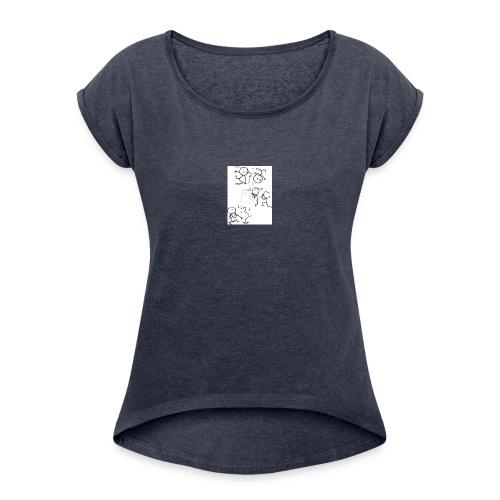 omini_che_suonano - Maglietta da donna con risvolti