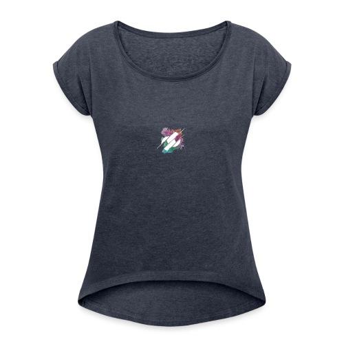 Diversion - T-shirt à manches retroussées Femme