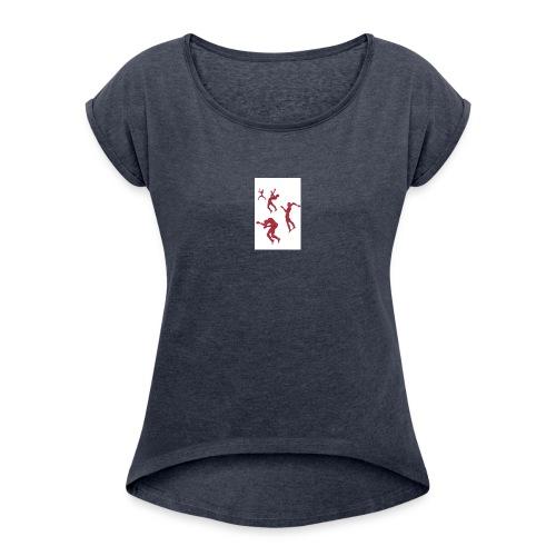 Caos-jpg - Maglietta da donna con risvolti