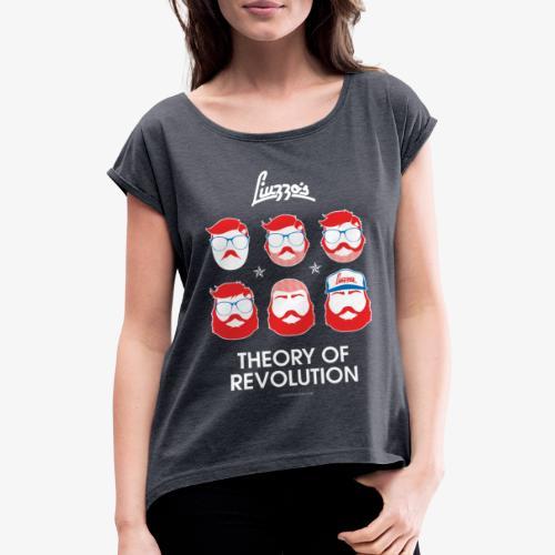 THEORY OF REVOLUTION - Maglietta da donna con risvolti