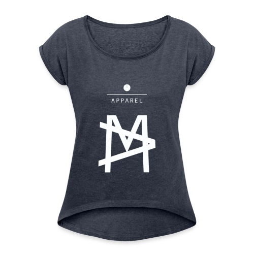 Masher MA T shirt - Maglietta da donna con risvolti