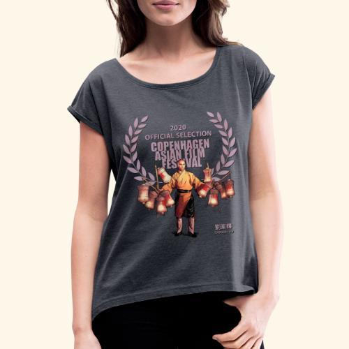 CAFF - Official Item - Shaolin Warrior 4 - Vrouwen T-shirt met opgerolde mouwen