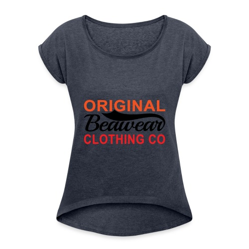 Original Beawear Clothing Co - Women's T-Shirt with rolled up sleeves