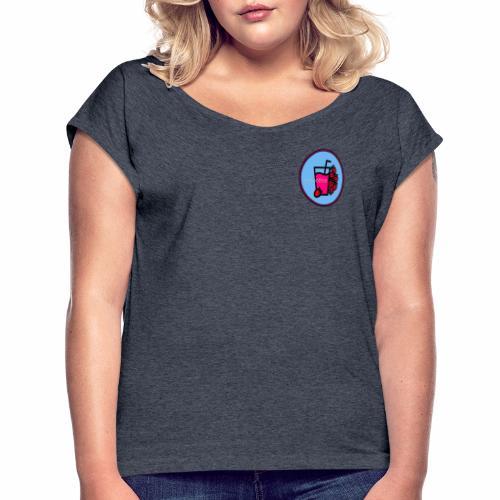 Smoothie Tøj - Dame T-shirt med rulleærmer