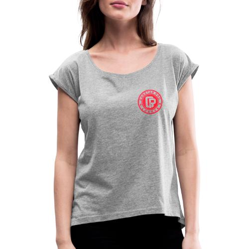 GunstartPro - Women's T-Shirt with rolled up sleeves