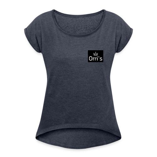 IMG 20190217 220031 939 - T-shirt à manches retroussées Femme