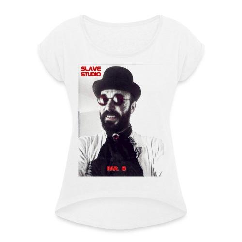 Mr. 8 - Maglietta da donna con risvolti