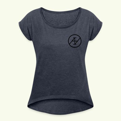 Aineto Reborn - T-shirt à manches retroussées Femme
