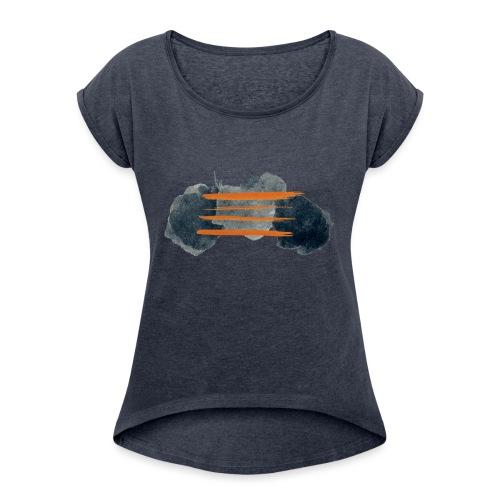 Alexi Delano - Lodestar Bang - T-shirt à manches retroussées Femme