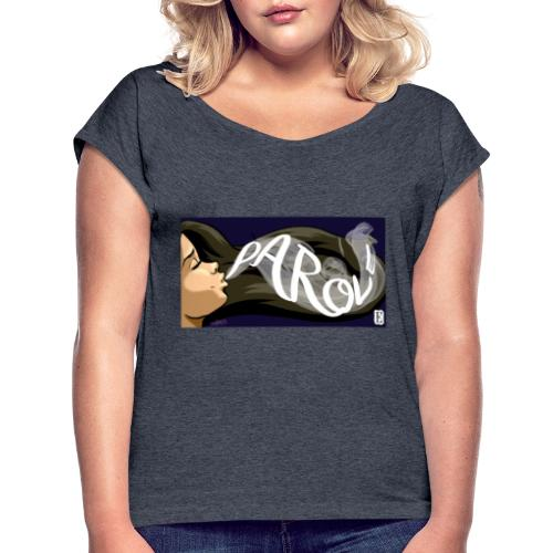 Parole - Maglietta da donna con risvolti