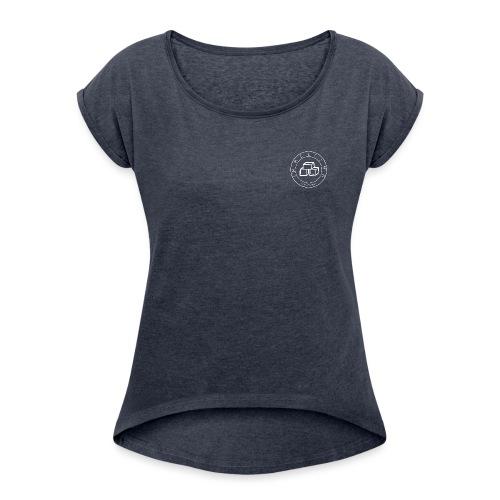 I m Melting - T-shirt à manches retroussées Femme