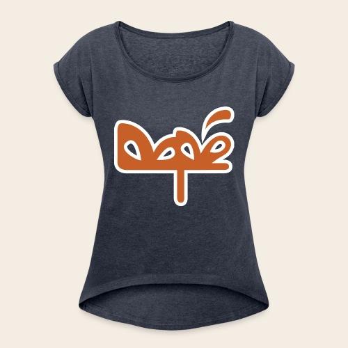 DAPE BAG - Maglietta da donna con risvolti