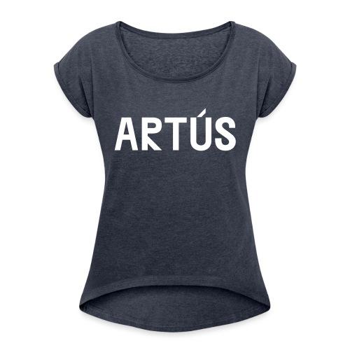 ARTÚS - T-shirt à manches retroussées Femme