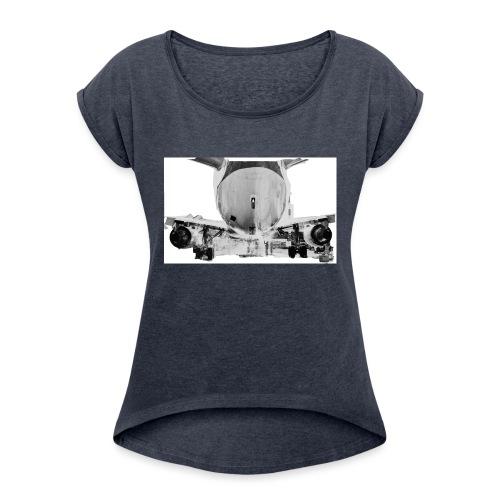 jet2 - Maglietta da donna con risvolti