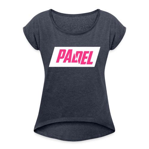 Padel - Maglietta da donna con risvolti