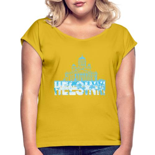 Helsinki Cathedral - Women's T-Shirt with rolled up sleeves