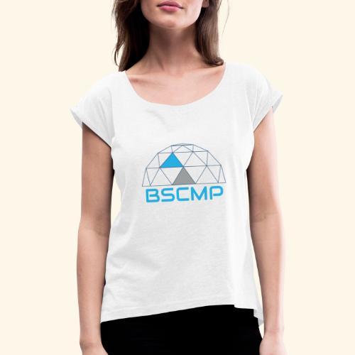 BSCMP - Vrouwen T-shirt met opgerolde mouwen