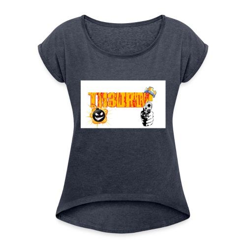Maglietta th3drop - Maglietta da donna con risvolti