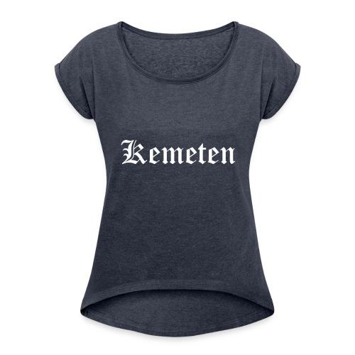 Kemeten (WESTRING) - Frauen T-Shirt mit gerollten Ärmeln