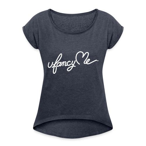 UfancyMe - Game générale - T-shirt à manches retroussées Femme