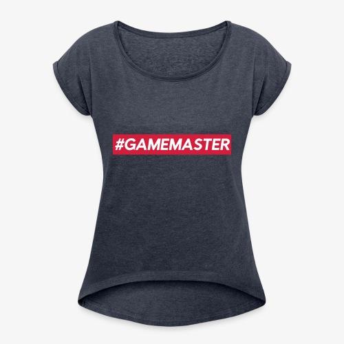 GAMEMASTER - T-shirt à manches retroussées Femme
