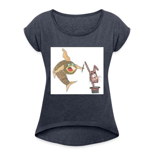 Karlo_Karpe_-_Harry_Hare-jpg - Dame T-shirt med rulleærmer