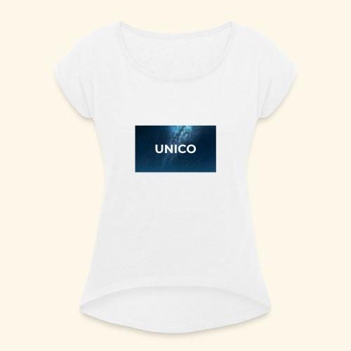copertina canzone-unico - Maglietta da donna con risvolti