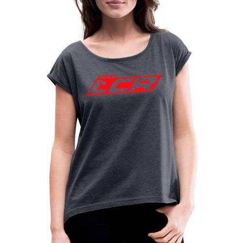 LCR Team Clothing - Women's T-Shirt with rolled up sleeves